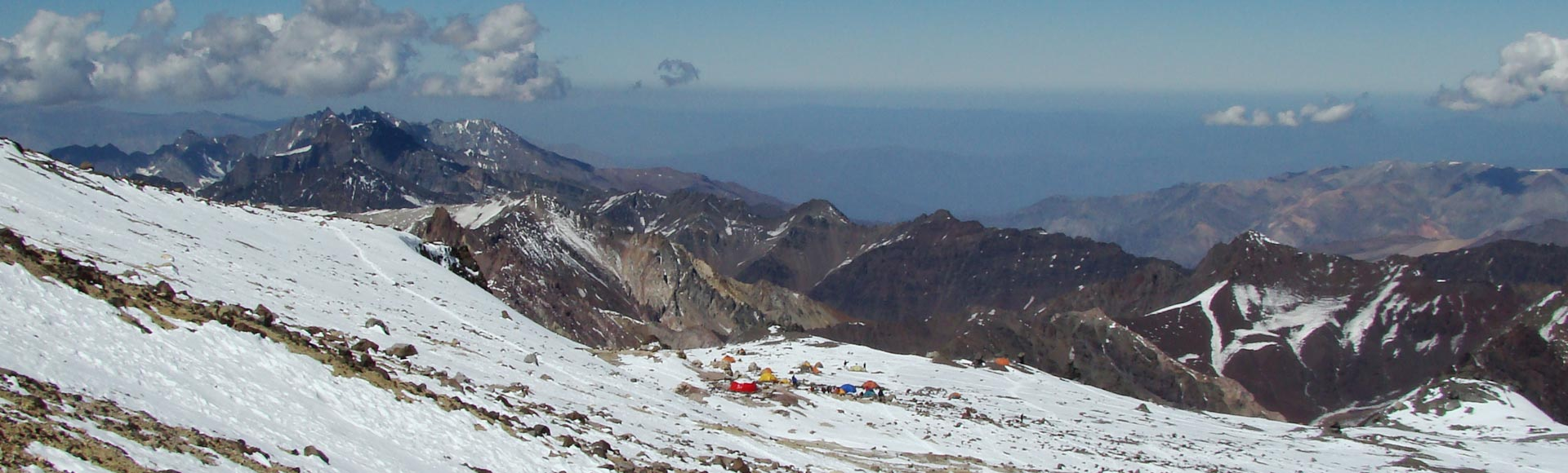 O topo do Aconcagua é logo ali!